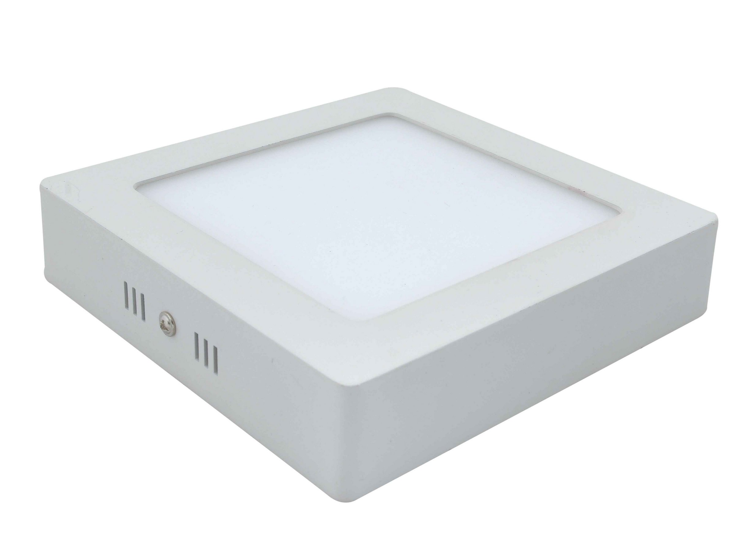 Plafón LED Cuadrado 12W 4000K Blanca Neutra Superficie product image