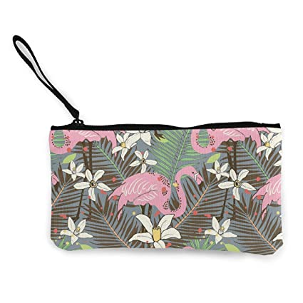 TTmom Carteras de Mujer,Monedero, Birds Flamingo Tropical ...