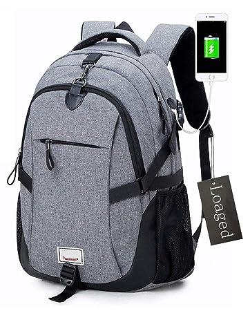 Amazon.com: Mochila para portátil antirrobo, bolsas de ...