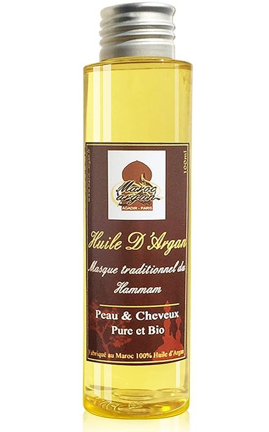 Cuidados para el Cabello Magnífico - Aceite de Argán y Aceite de Ricino - Crecimiento y el brillo del cabello - 200ml: Amazon.es: Belleza