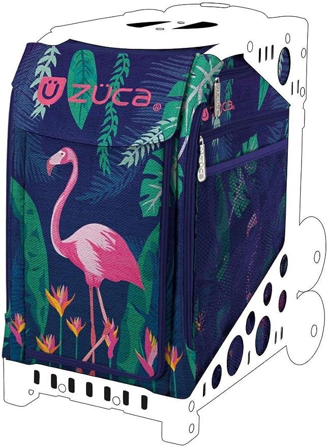 FREE SEAT CUSHION ZUCA Bag FLAMINGO Insert /& Pink Frame w//Flashing Wheels