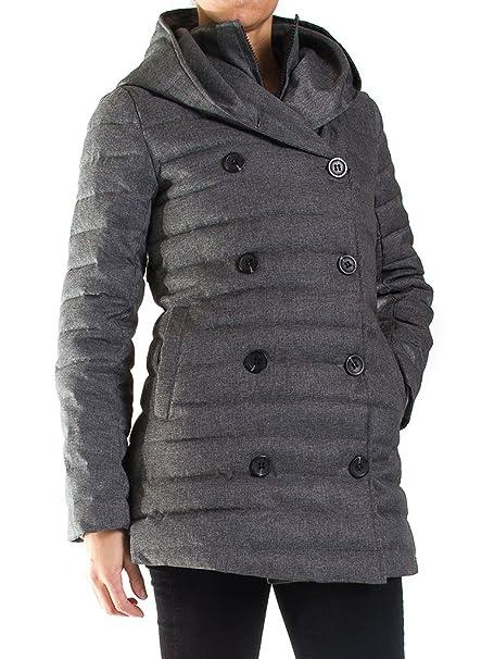 Carrera Jeans - Abrigo de Plumas 482 para Mujer, Reefer Abrigo, Color Liso,