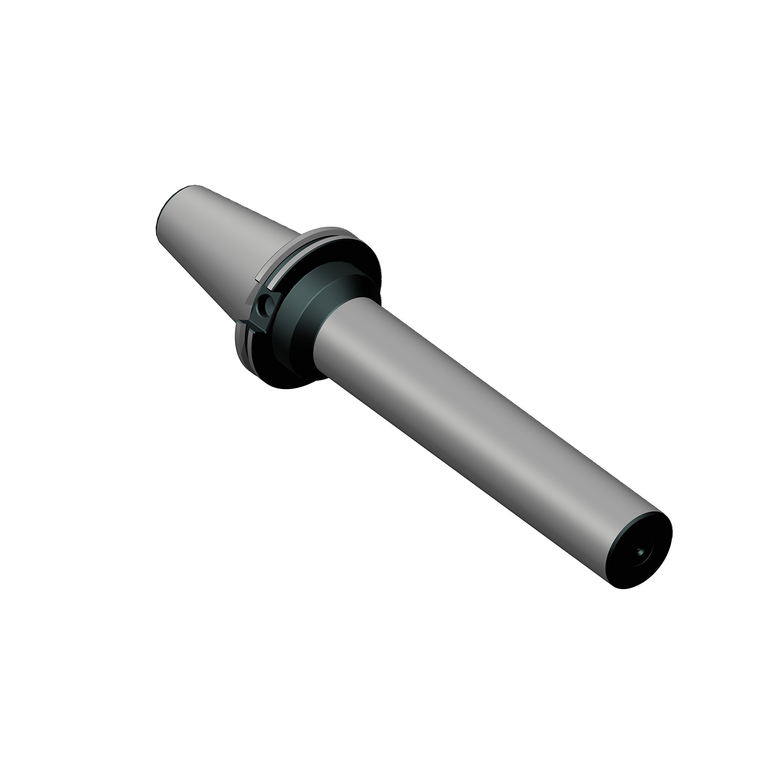 Briney Tooling Systems V50PTB-200-1200 Cat50 Precision Test Bar, 2'' Diameter, 12'' Projection