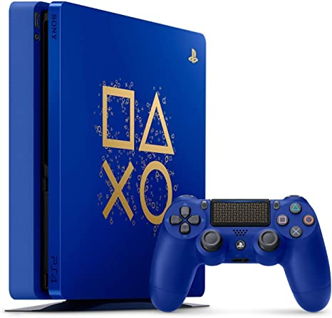 Playstation 4 Slim 2TB SSHD Limited Edition Days of Play Consola ...