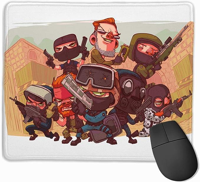 sfdgd Counter-Strike Non-Slip Anime Gaming Mouse Pad: Amazon ...