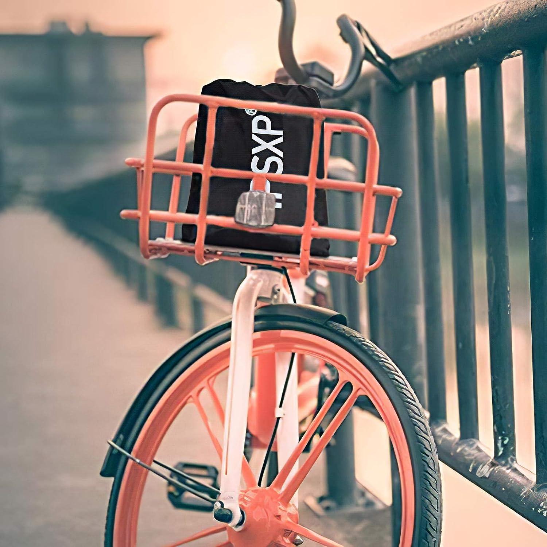 IPSXP Fahrradabdeckung Wasserdicht 210D Oxford-Gewebe Hochwertige Fahrradgarage Plane Wasserfest Fahrrad schutzh/ülle mit Beutel Schwarz