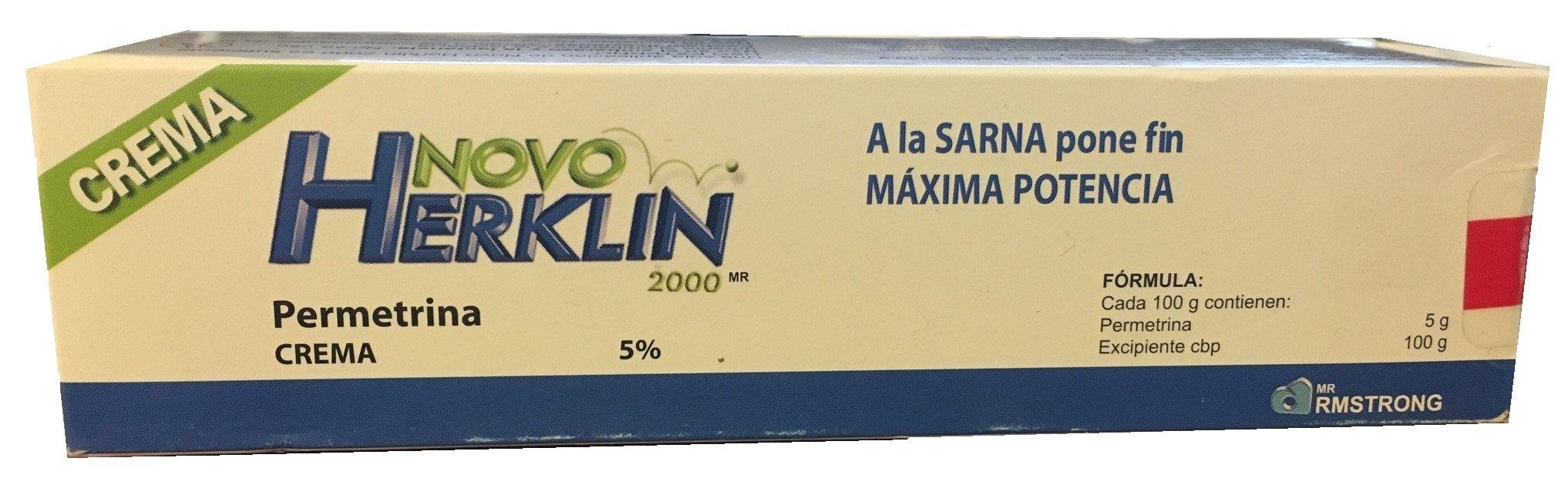 Herklin Repelente de piojos para el cabello crema/ Lice Repelent Cream w Dcache Exclusive Gift