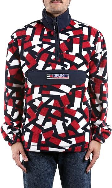 Tommy Hilfiger Felpa Sport Tech Polar Multicolor DM0DM07625