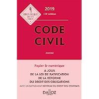 Code civil 2019, annoté - 118e éd.