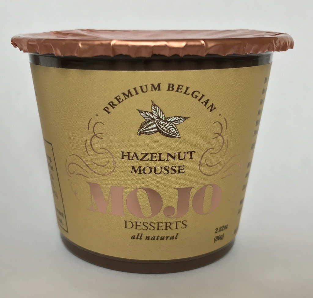 Amazon.com : MOJO Belgian Chocolate Mousse Hazelnut Praline (6) : Grocery & Gourmet Food