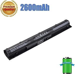 KI04 HSTNN-LB6S HSTNN-LB6R 800049-001 800010-421 TPN-Q158 New Laptop Battery Compatible with HP Pavilion 14-ab006TU 15-ab000 15-ab038TX 17-g000-12 Months Warranty (KI04 HSTNN-LB6S)