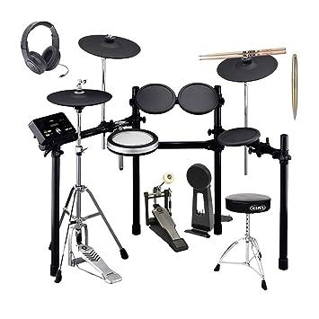 Yamaha DTX532K Drum Kit + Kick Pedal + Throne + Roland Stereo