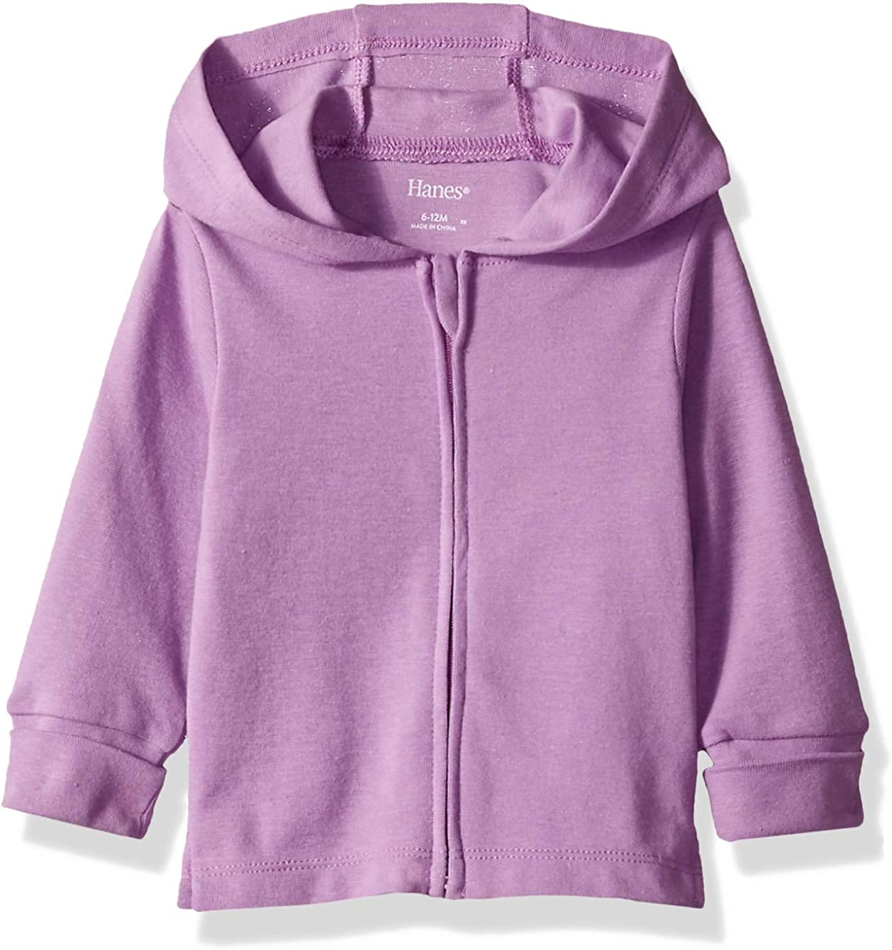 Hanes Girls' Ultimate Baby Zippin Knit Hoodie: Clothing