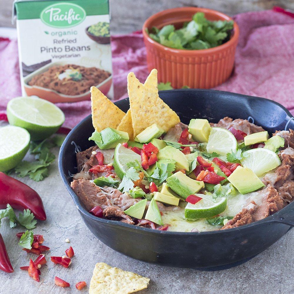 Pacific Foods Organic Refried Vegetarian Black Beans, 13.6 oz (pack of 12)