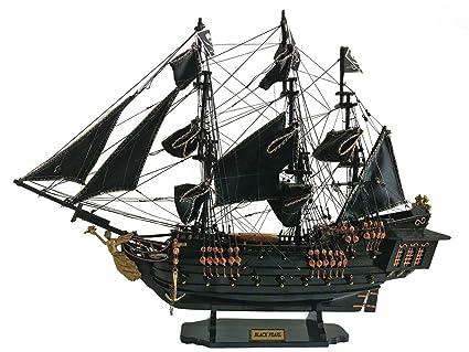 Modelo del barco la Perla Negra de Home Decor hecho a mano