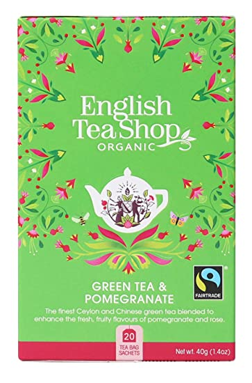 English Tea Shop - Bolsas de té verde granada, comercio ...