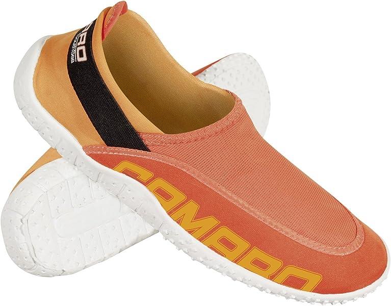 Camaro - Zapatillas acuáticas (con Malla) Naranja Naranja Talla:34/35