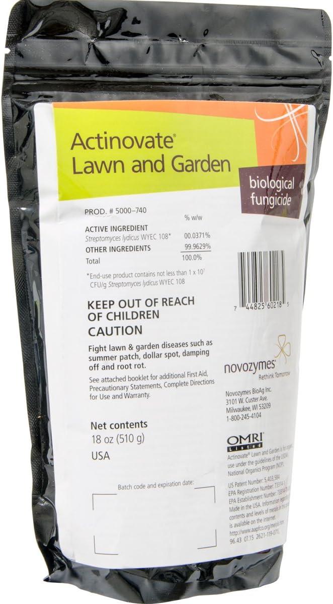 Actinovate NI40740 Lawn & Garden Fungicide, 18oz