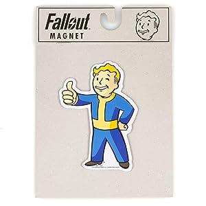 Fallout Vault Boy Thumbs Up Fridge Magnet - 2016 Bethesda Fallout Video Game