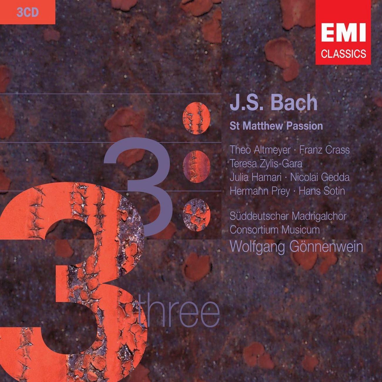 Bach: St Matthew Passion