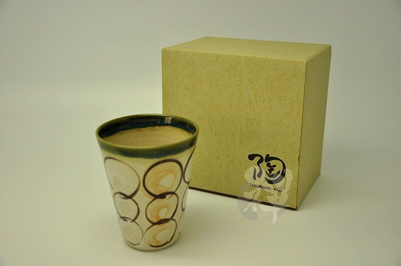 Japanease Tokoname ware mugs JYUNOZO 3 5//8 x 4 1//4 MK-3-791