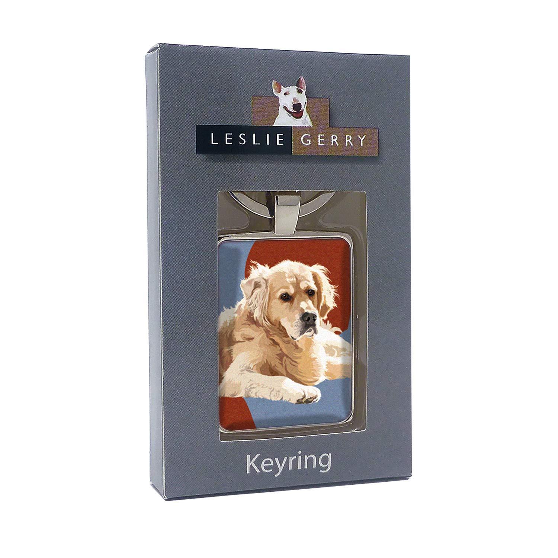 Amazon.com: Leslie LGKRB037 Gerry - Llavero, diseño de perro ...