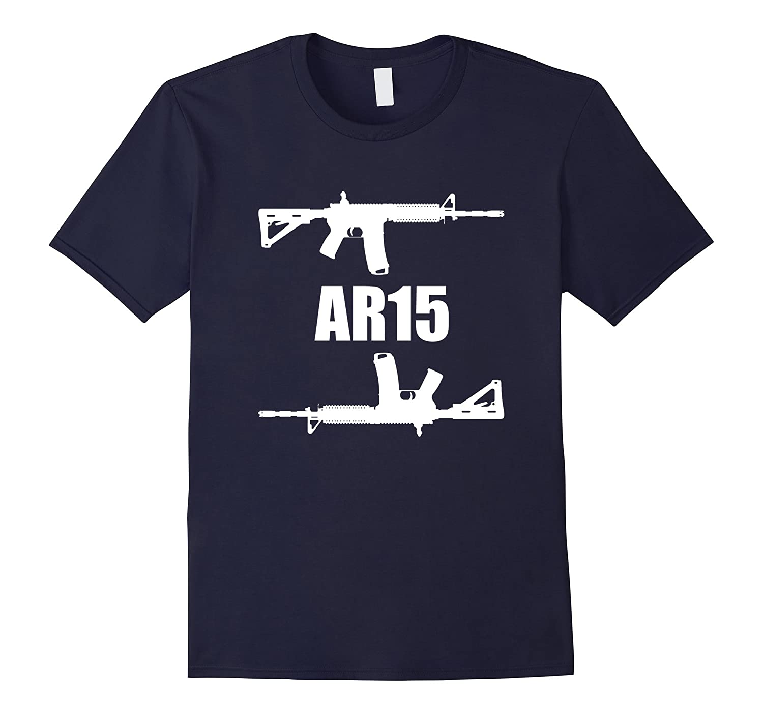 AR-15 - White Graphics-BN