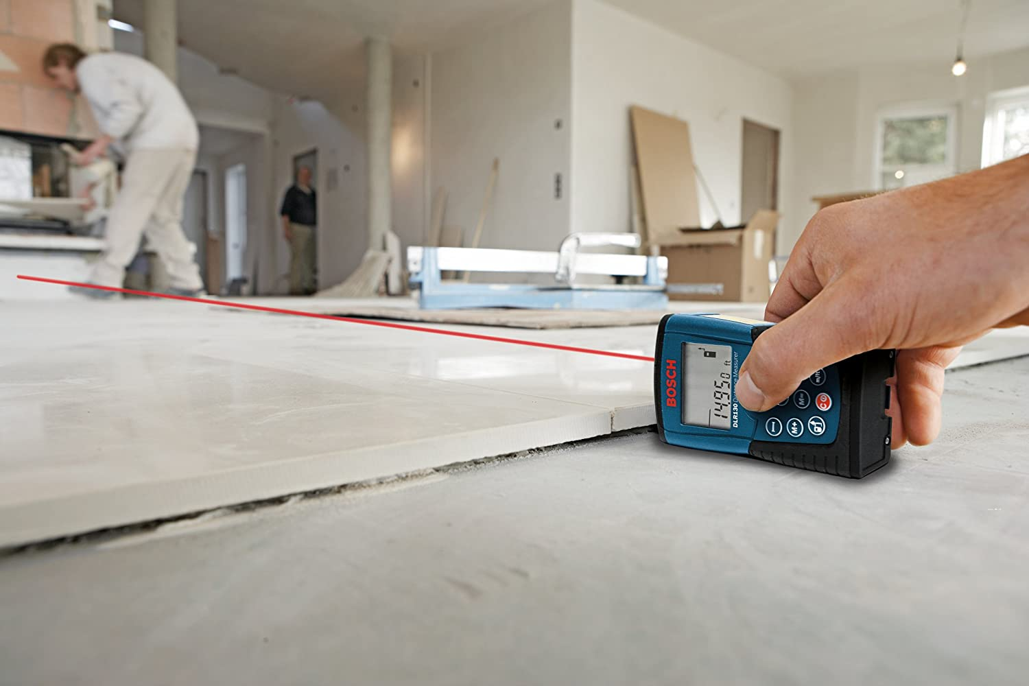 How to use a laser level for laying tiles how to use a laser level to install tiles dailygadgetfo Choice Image