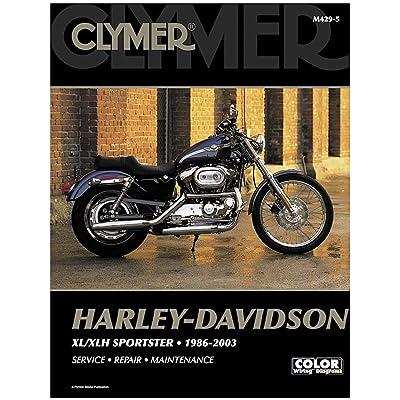 Clymer Harley-Davidson XL/XLH Sportster (1986-2003) (53151): Automotive