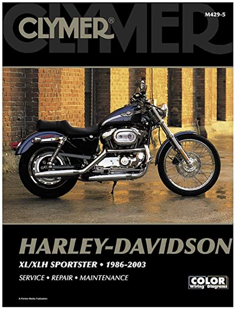 amazon com: clymer harley-davidson xl/xlh sportster (1986-2003) (53151):  automotive