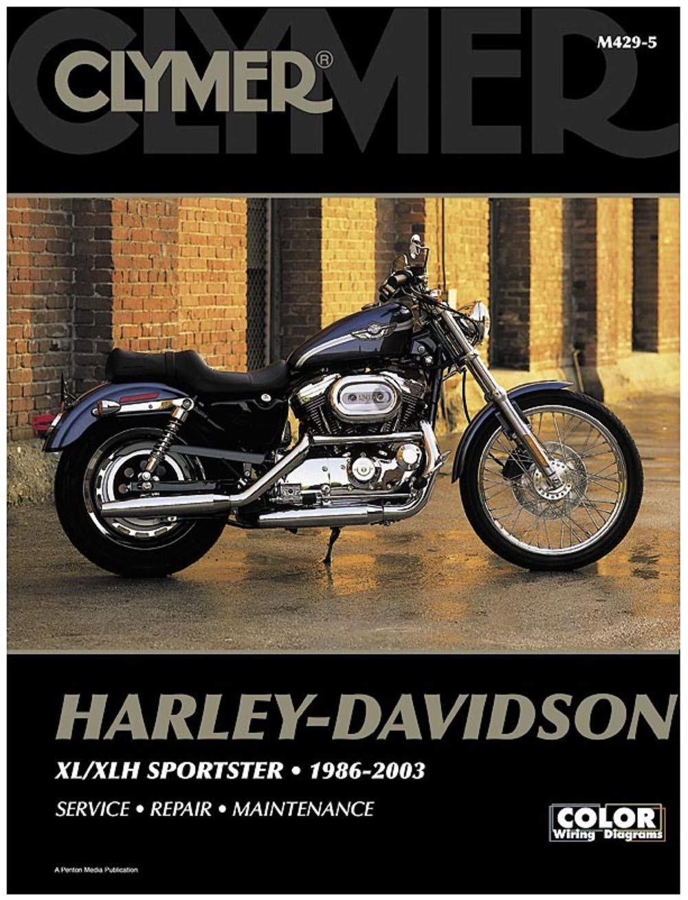 Amazon.com: Clymer Harley-Davidson XL/XLH Sportster (1986 ... on