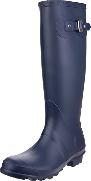 8456430c7 Cotswold Women Sandringham Wellington Wellies PVC Boot Pull On ...