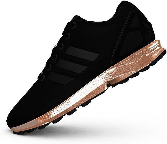 adidas Womens ZX Flux Size 10 Black: Amazon.co.uk: Shoes & Bags