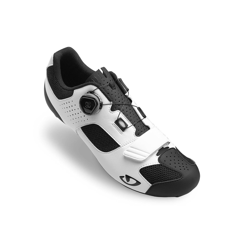 Giro Trans Boa White Black Road Bike Shoes Size 49 transboa-white-49