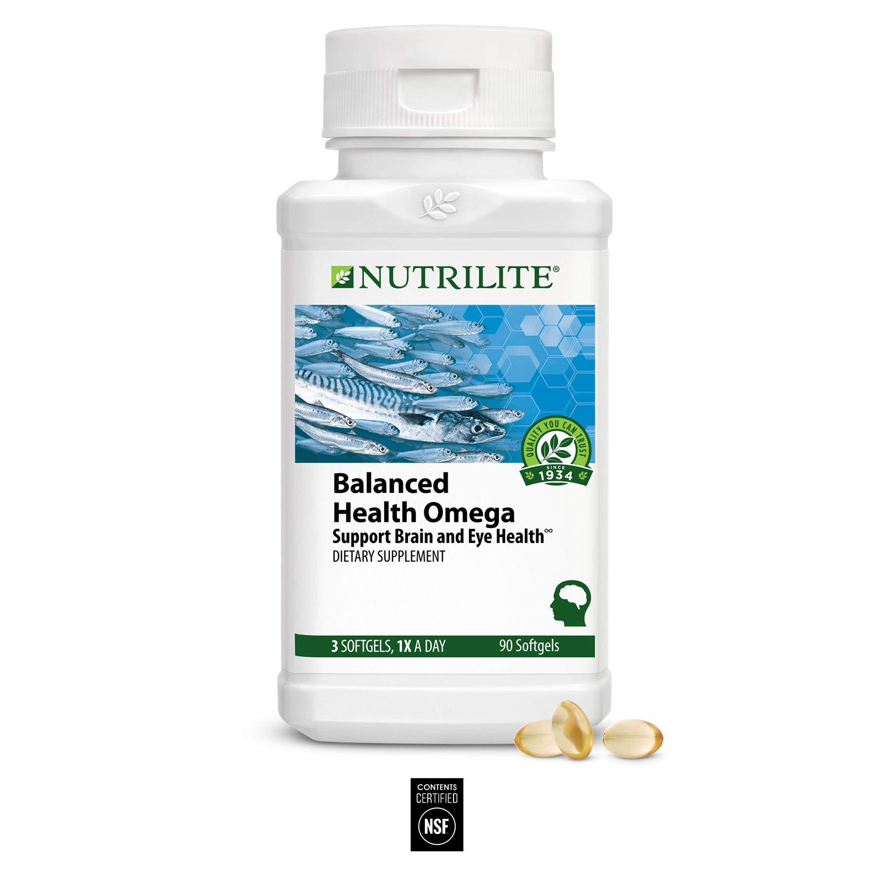 Nutrilite Balanced Health Omega 90 Softgels