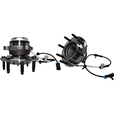 Detroit Axle 515059 Front Wheel Hub and Bearing Assembly for GMC Savana 2500 3500 4500 Chevrolet Express 2500 3500 4500 Under 9600lb GVW 8-Lug w/ABS: Automotive
