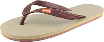 d278ff0c25da Feelgoodz Men s Classicz Natural Rubber Flip Flops - Comfortable and  Durable Natural Rubber Sole