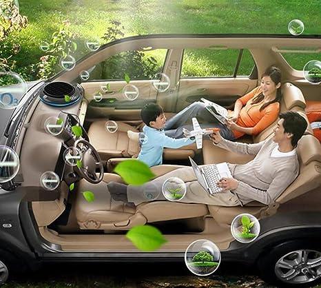 Greawei Purificador de aire del coche Humidificación Aromatherapy Anion Bars Además del formaldehído, humo, olor, PM2.5, neblina filtro de partículas USB ...