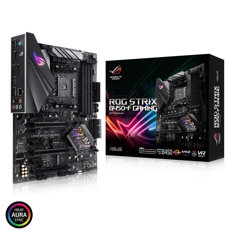 Asus Rog Strix B450-f Gaming Motherboard (atx) Amd Ryzen ...