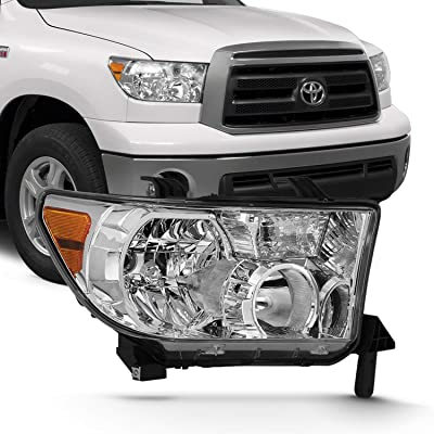Buy Fits 2007 2013 Toyota Tundra 2008 2017 Sequoia Oe Style Headlight Assembly Pair Online In Indonesia B07h5vntl2
