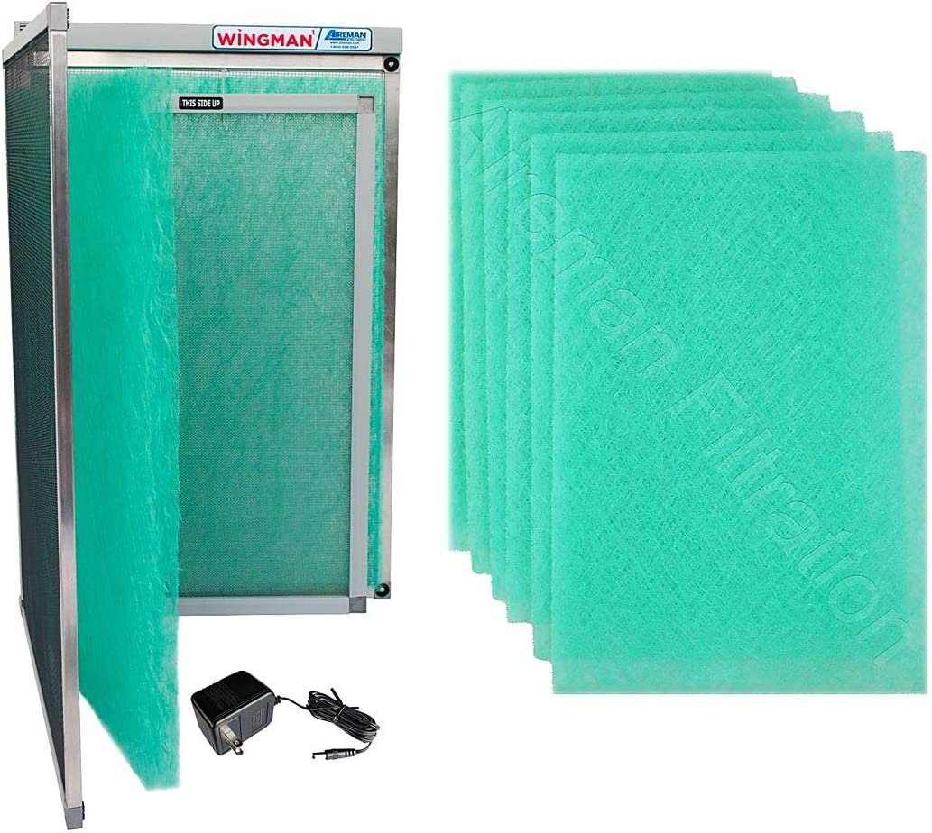 16x20x1 Electronic Air Filter Including Year Supply of Replacement Pads - Homeowner Installed- Simply Replace Your Current AC Furnace Air Filter and PLUG IT IN!