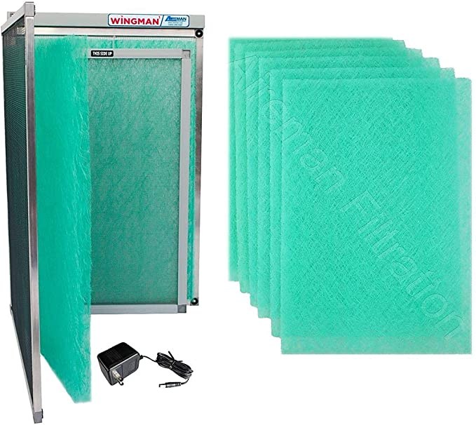 16x25x1 Electronic Air Filter Including Year Supply of Replacement Pads