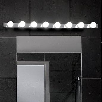 MIA Light Hollywood Hollywood Design/ Chrom/ Wand Badezimmerlampe ...