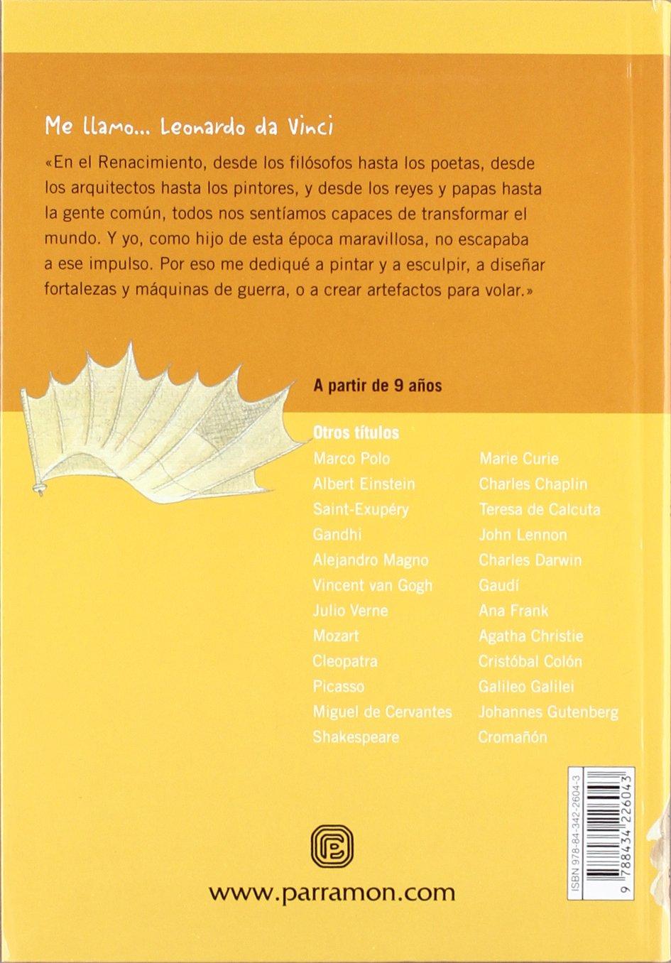 ME LLAMO LEONARDO DA VINCI: Amazon.es: Alvarez Boccardo, Johanna ...