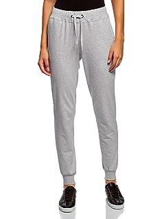 7e64e16770e1f2 oodji Ultra Donna Pantaloni Sportivi in Maglia: Amazon.it: Abbigliamento