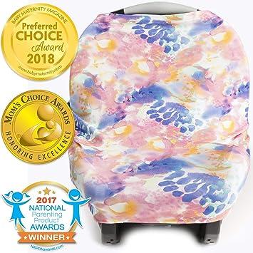 Amazon.com: Cubierta elástica 4 en 1 para asiento de coche ...