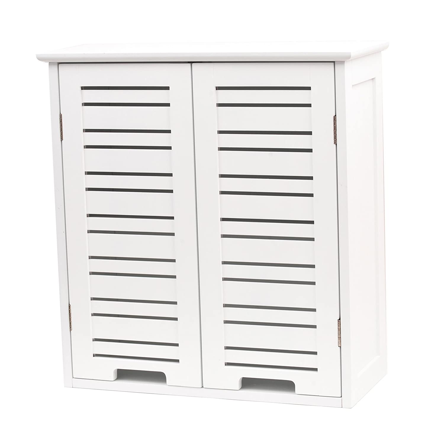 Bathroom wall cabinet - 2 doors - White TENDANCE 9903300
