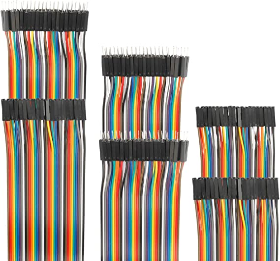 Durable 40pcs Dupont 10CM Male To Male Jumper Wire Ribbon Cable for Breadboard F