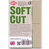 Softcut Lino Block 75 x 75 x 3mm - Pack of 2