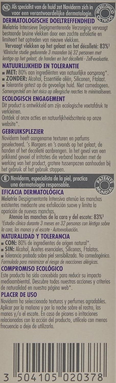 NOVIDERM Melatrio Despigmentante Intensivo 30ML: Amazon.es: Alimentación y bebidas